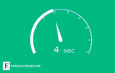 تاثیر سرعت سایت بر سئو